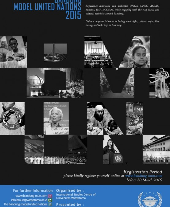 Bandung Model United Nation 2015
