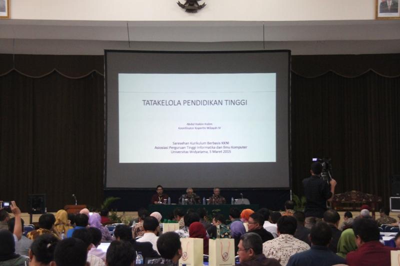 Fakultas Teknik Universitas Widyatama gelar Seminar dan Workshop Kurikullum KKNI