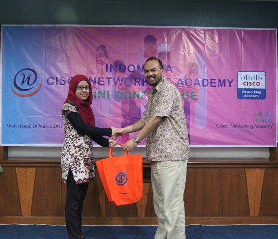 Bangga menjadi homebase Mini Conference Indonesia CISCO Networking Academy