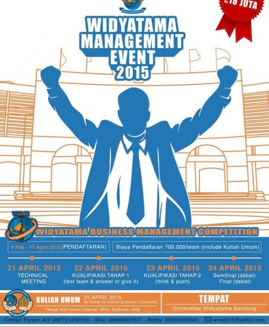 Widyatama Management Event 2015