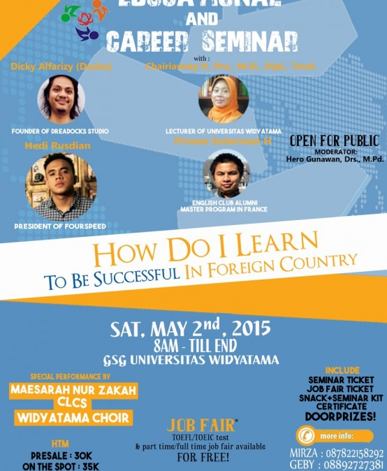 Education and Career Seminar