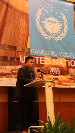 Bandung Model United Nation 2015 wadah Gagasan Mahasiswa Internasional