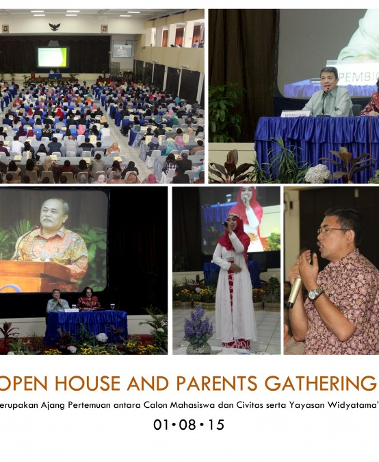 Ratusan orang tua calon Mahasiswa Hadiri Parents Gathering Universitas Widyatama