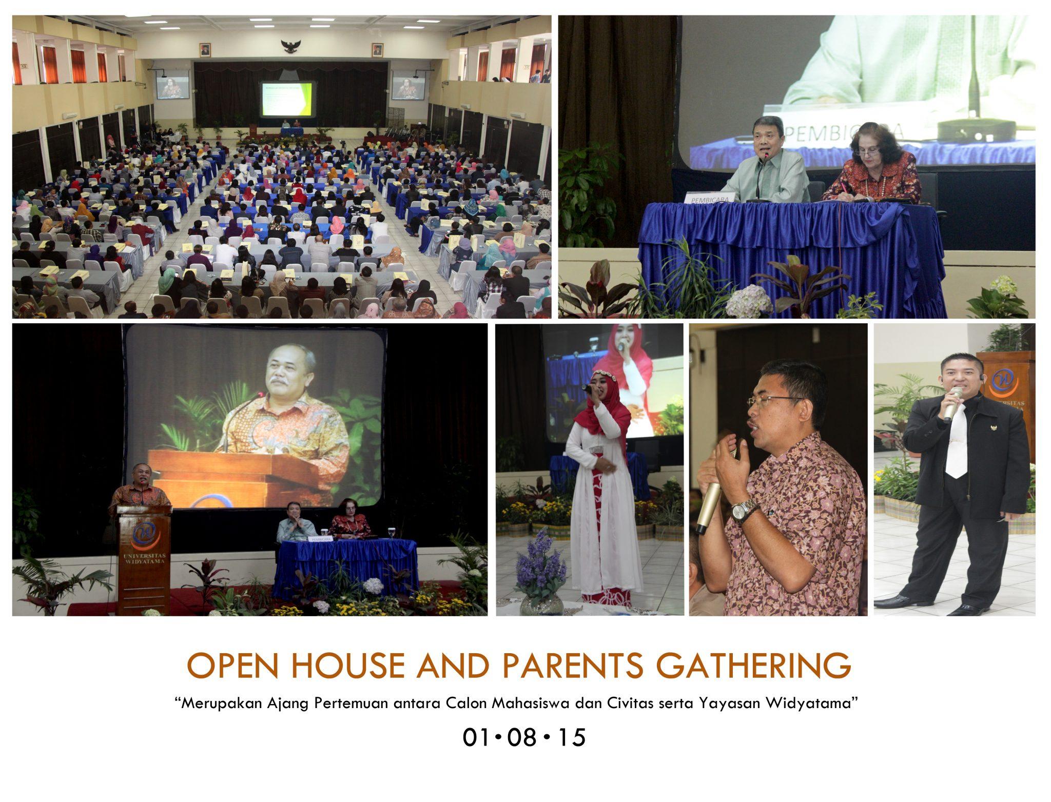 Ratusan orang tua calon Mahasiswa Hadiri Parents Gathering