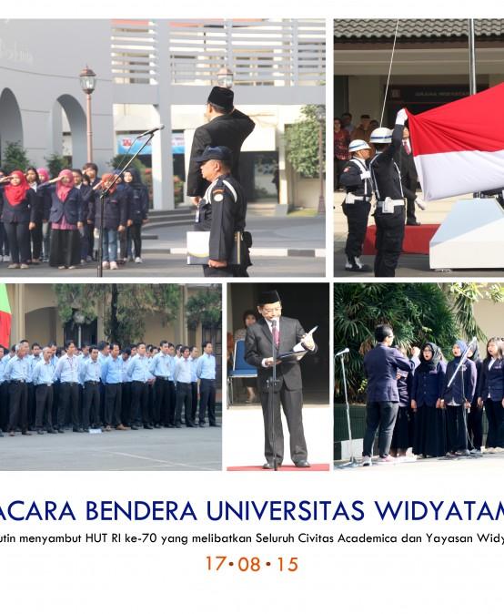 Perayaan HUT RI ke-70 di Universitas Widyatama