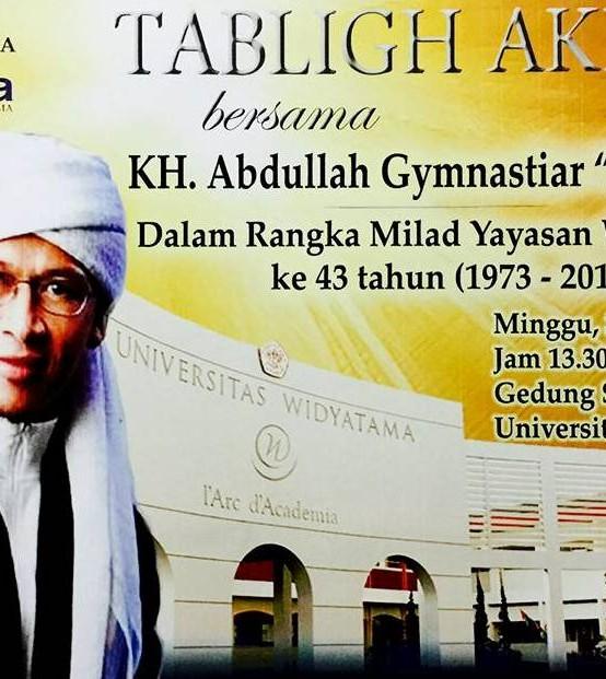 Tabligh Akbar Bersama K.H. Abdullah Gymnastiar (Aa Gym)