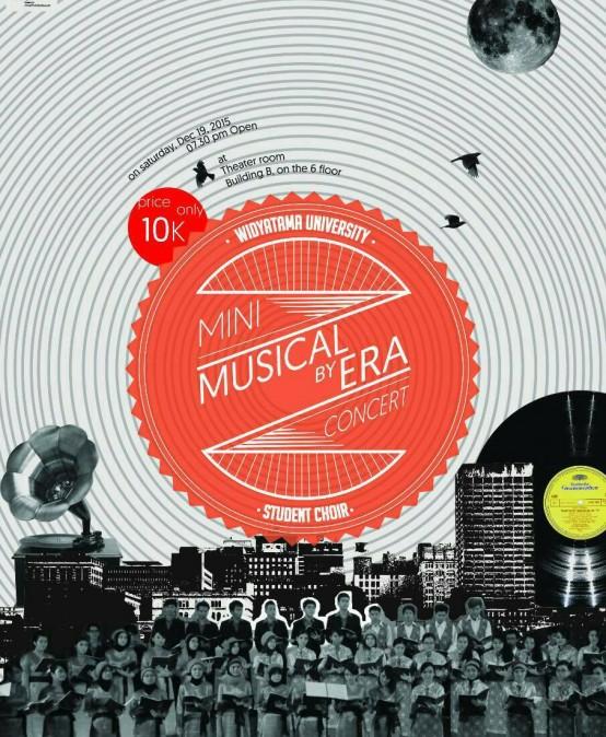 """Musical By Era"" Student Choir Widyatama University Mini Concert"