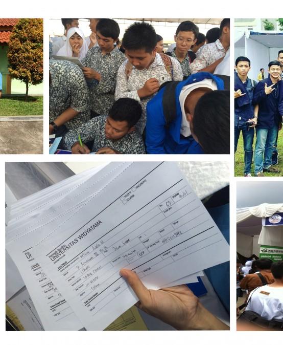 Kemeriahan Edufair Universitas Widyatama di Daerah Priangan Timur