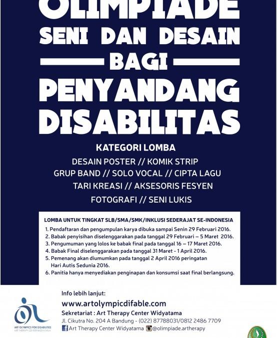 Olimpiade Seni dan Desain bagi Penyandang Disabilitas