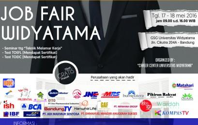 Job Fair Universitas Widyatama