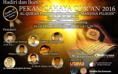 Pekan Cahaya Qur'an 2016
