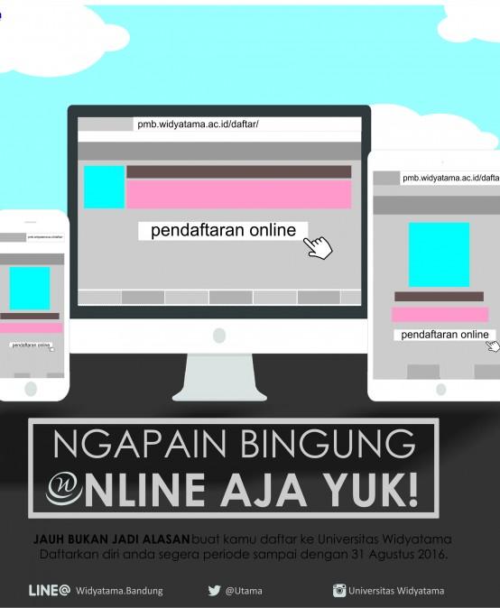 Pendaftaran Online Widyatama