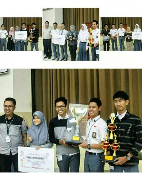 Dukung Potensi Siswa SMA, HMTI mengadakan Industrial Competition of Education