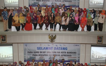 Harmonisasi Para Guru Bimbingan Konseling dengan Universitas Widyatama