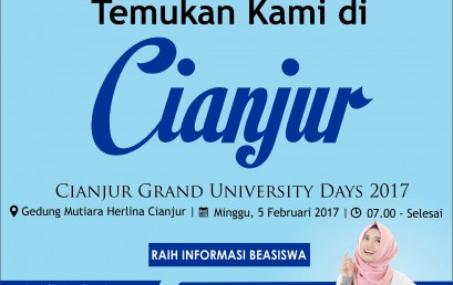 Cianjur Grand University Days 2017
