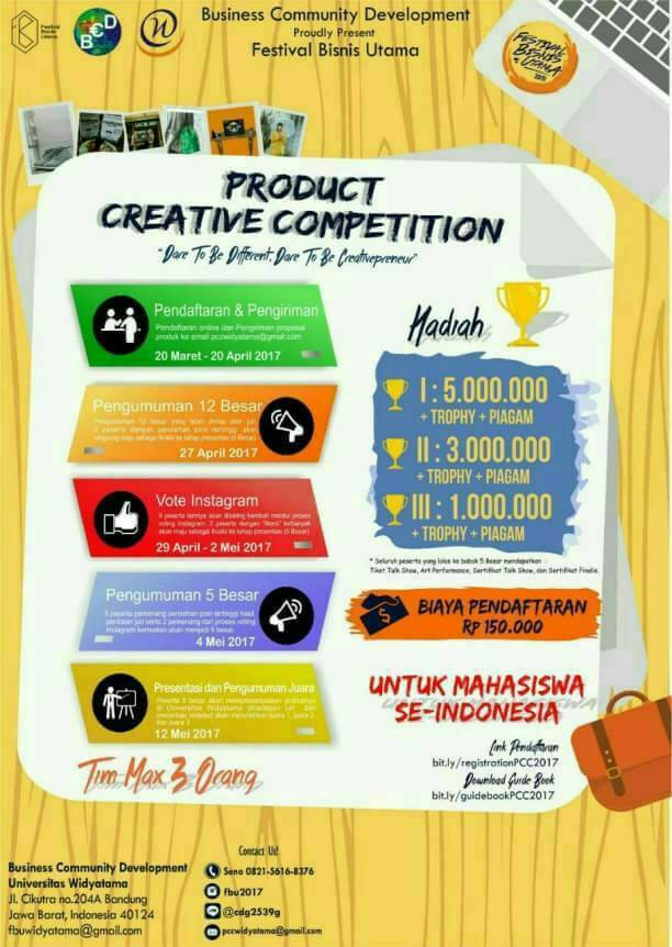 """Festival Bisnis Utama """"LORD (LOCAL POTENTIAL AGAINST THE WORLD"""""""