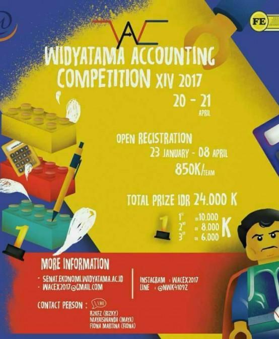 Widyatama Accounting Competition 2017
