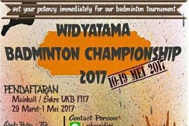 Widyatama Badhminthon Championship