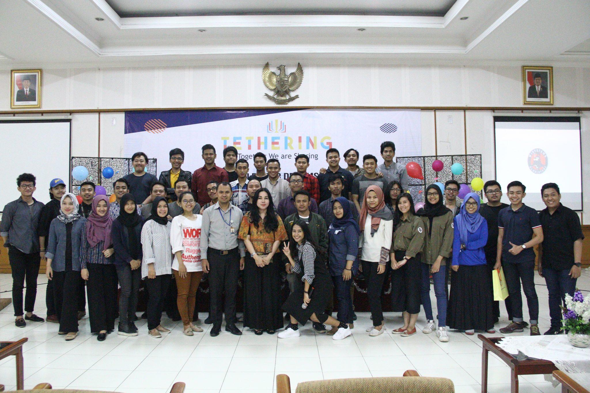 Tethering : LK dan OK Pilar Pembangunan Karakter Mahasiswa