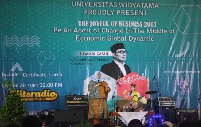 Business Management Week 2017 : Mahasiswa adalah Agen Perubahan Masa Kini