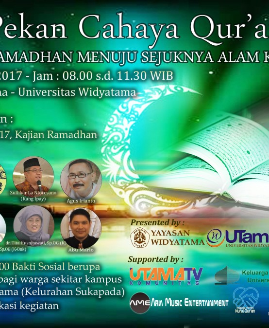 Pekan Cahaya Qur'an 2017