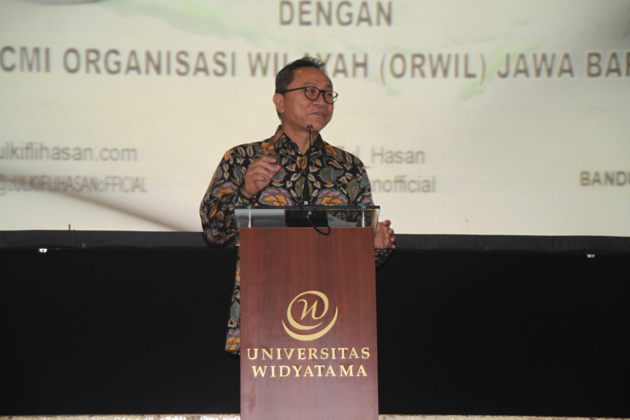 Ketua MPR RI Bersama Ratusan Tokoh Muslim Indonesia Hadiri Halal Bihalal di Universitas Widyatama