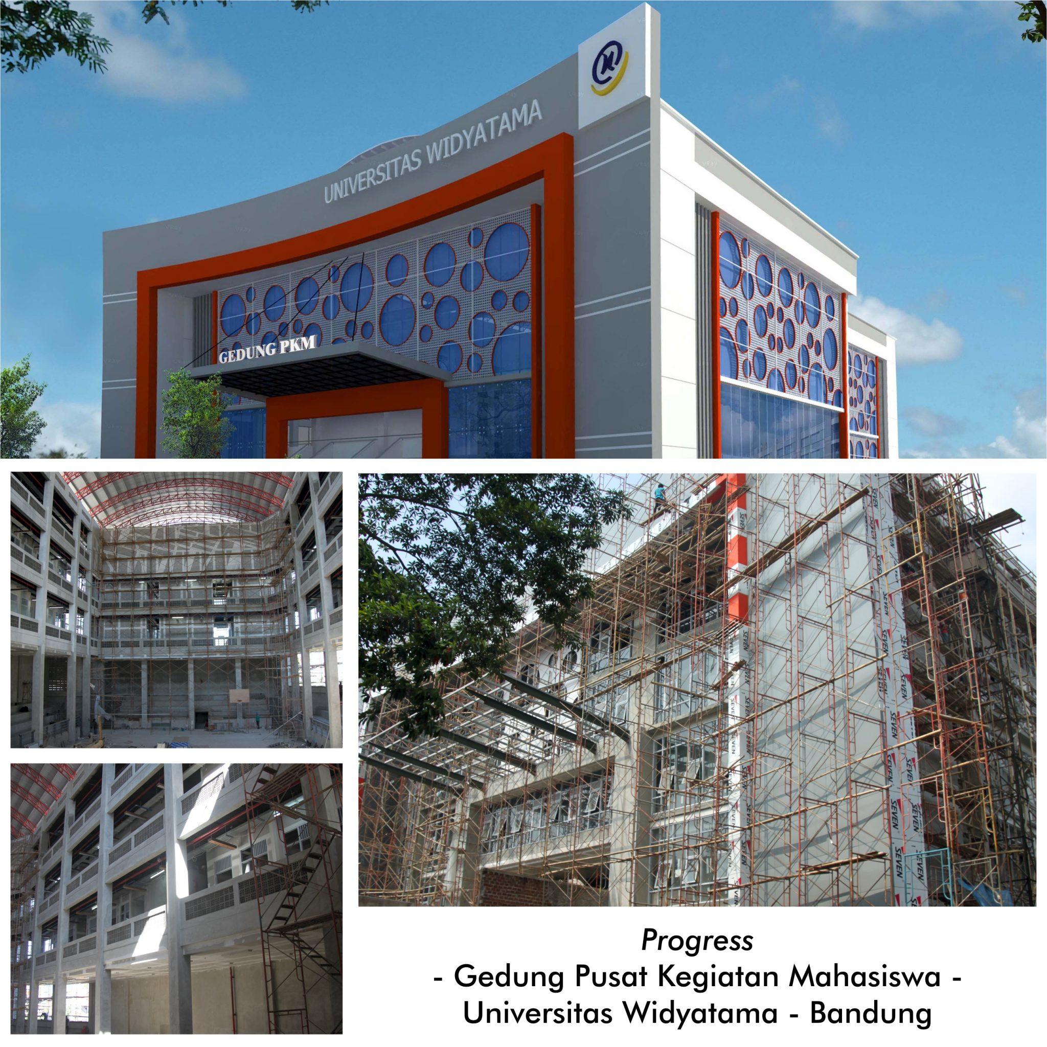 Gedung PKM Sarana Mengasah Potensi Mahasiswa Universitas Widyatama