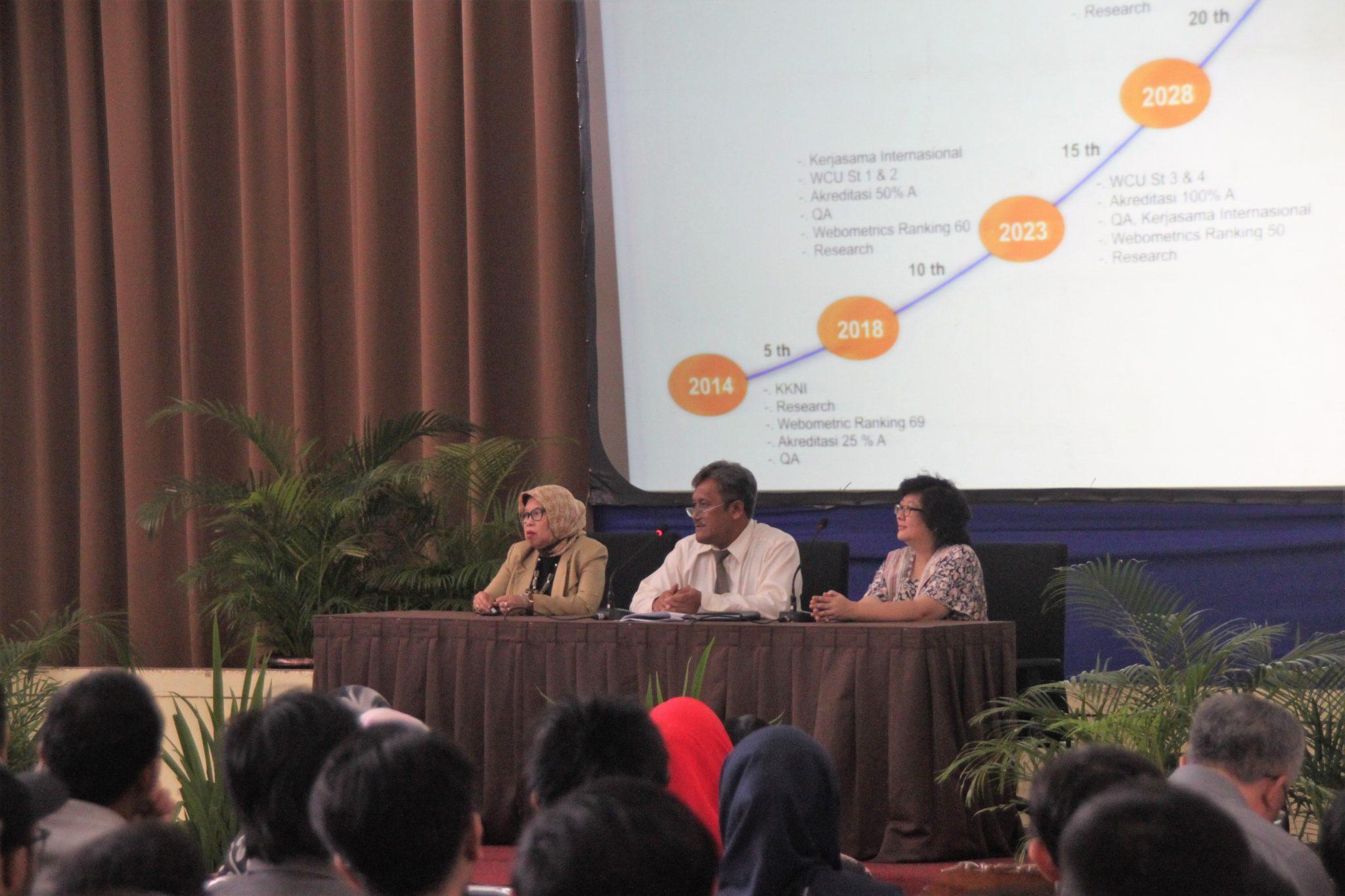 Pelaksanaan Program Pengenalan Universitas Kelas Reguler B