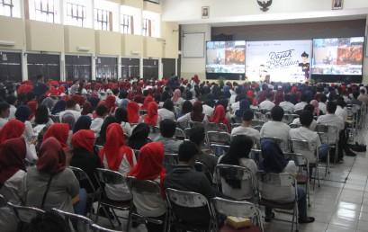 Ratusan Mahasiswa Bandung Memadati Sosialisasi Pajak Bertutur di Universitas Widyatama