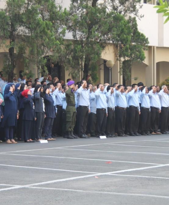 Upacara Peringatan HUT RI ke-72 di Universitas Widyatama