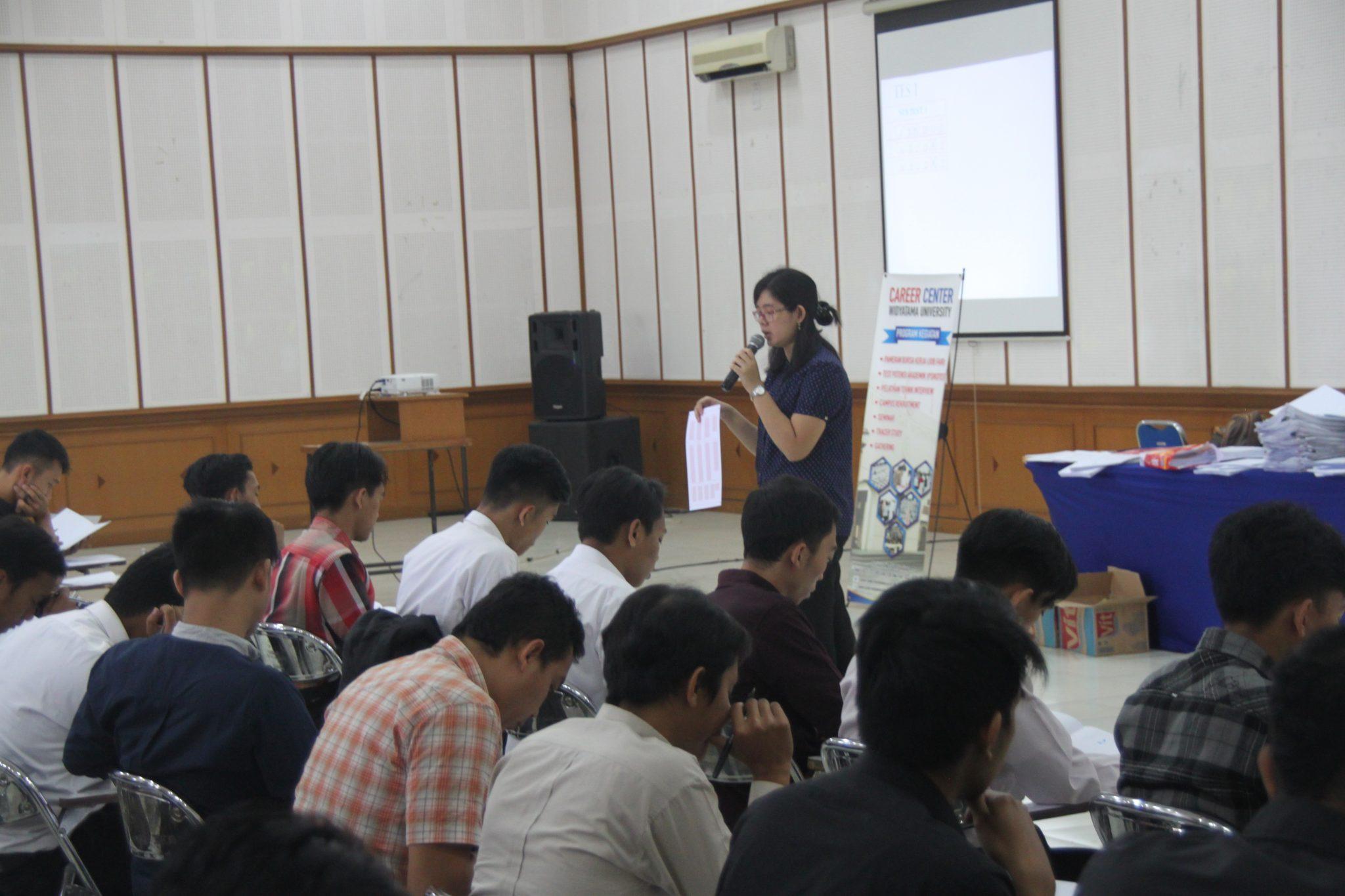 Proses Rekrutmen PT Djarum di Universitas Widyatama