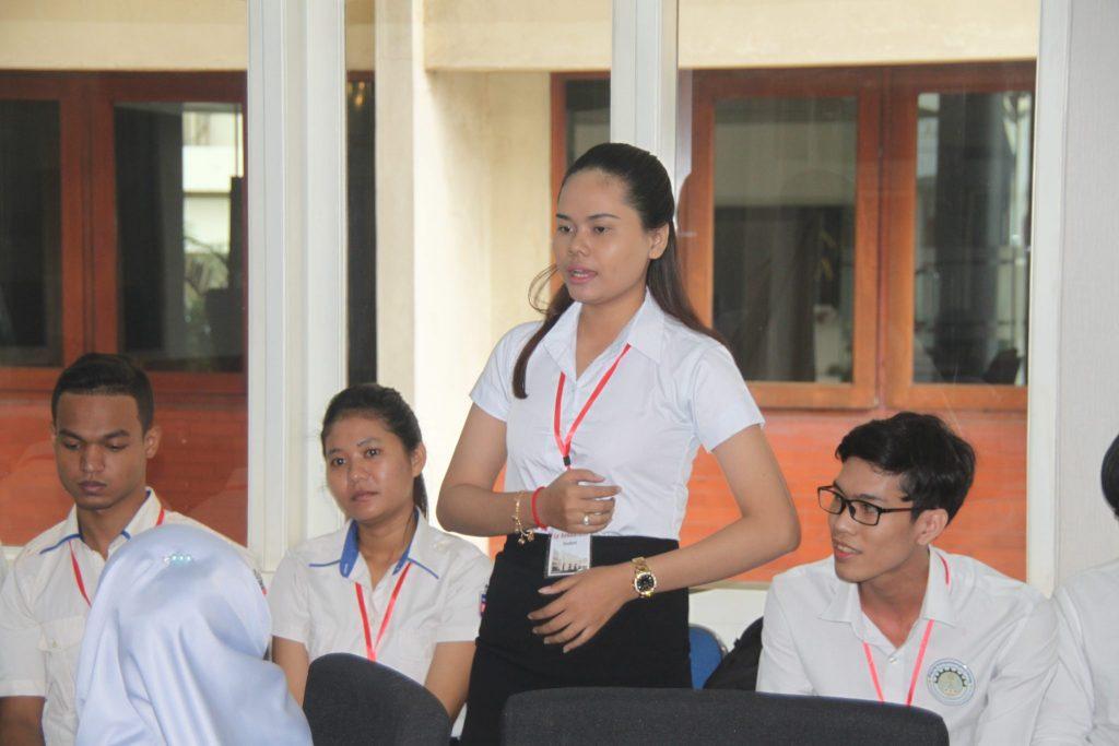 Mahasiswa Asal Kamboja