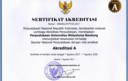 """Perpustakaan Universitas Widyatama Raih Akreditasi """"A"""""""