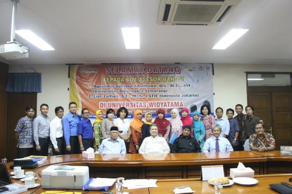 Re-Akreditasi Program Studi Akuntansi Diploma Tiga Universitas Widyatama