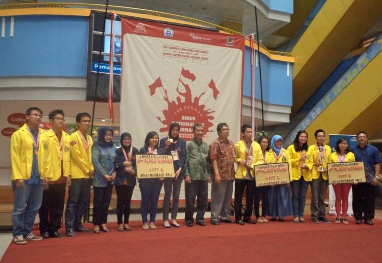 Tim Mahasiswa Fakultas Ekonomi Raih Juara 3 pada Binus National Tax Competition