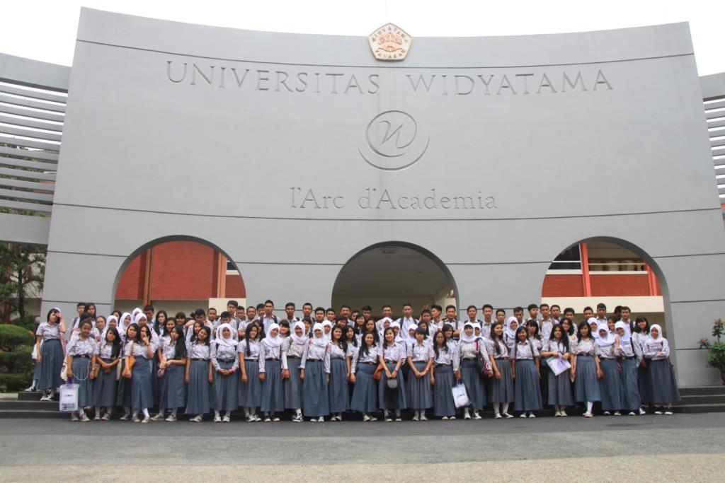 Visitasi & TRY OUT SMA ANGKASA BANDUNG di Universitas Widyatama, Bandung
