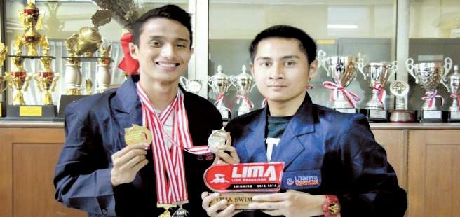 Tim Renang Universitas Widyatama Meraih Medali Emas di Liga Mahasiswa (LIMA) 2014