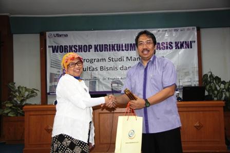 Para Dosen Universitas Widyatama Mengikuti Workshop Kurikullum Berbasis KKNI