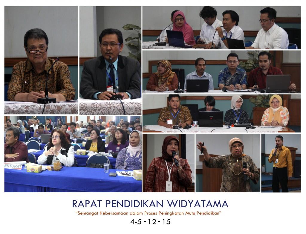 Rapat Pendidikan Widyatama : Semangat Kebersamaan dalam Proses Peningkatan Mutu Pendidikan