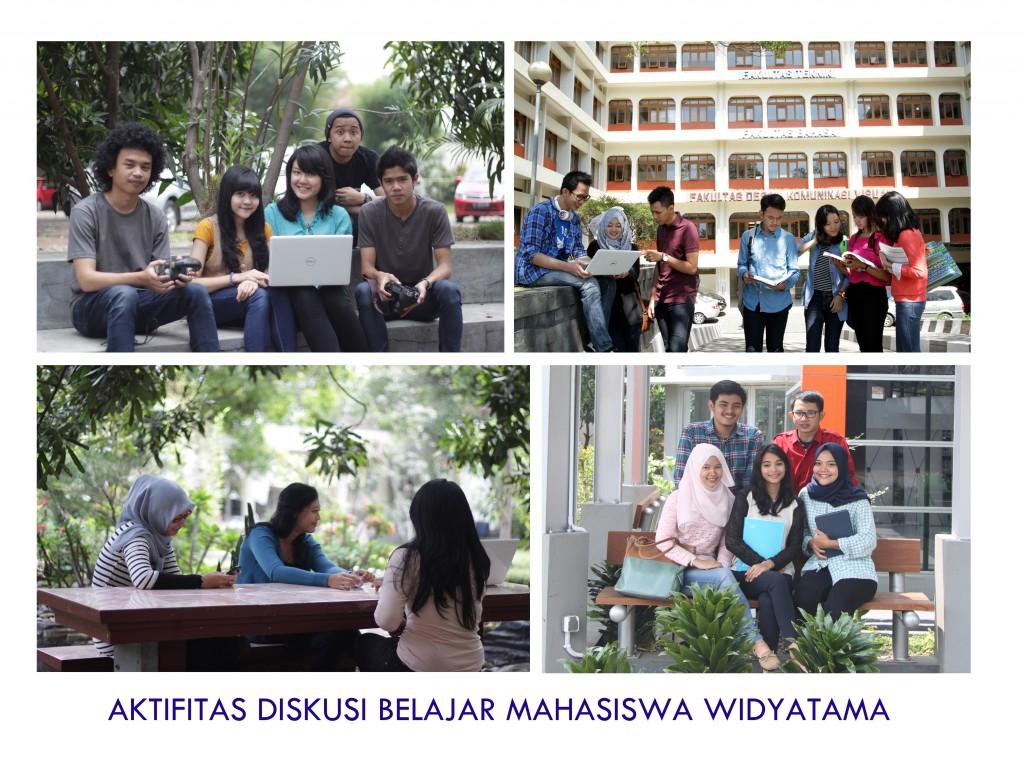 Sarana Belajar dan Diskusi Outdoor di Lingkungan Widyatama