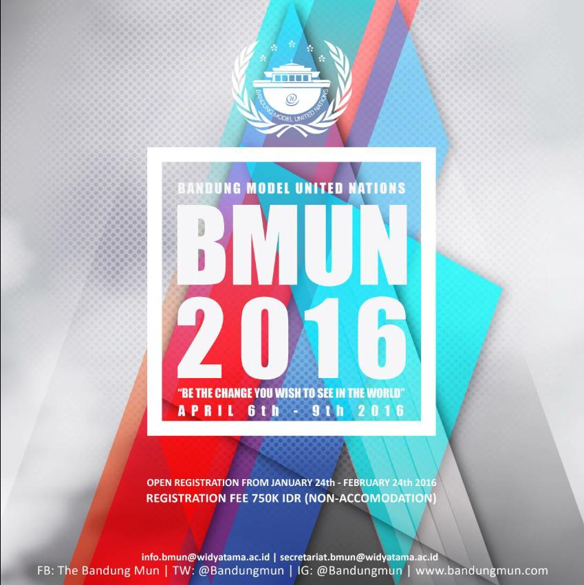 Open Registration Bandung MUN