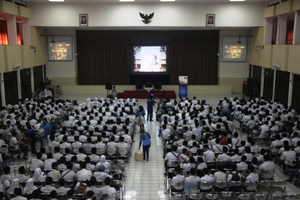 Visitasi dan Tryout SMKN 6 Bandung