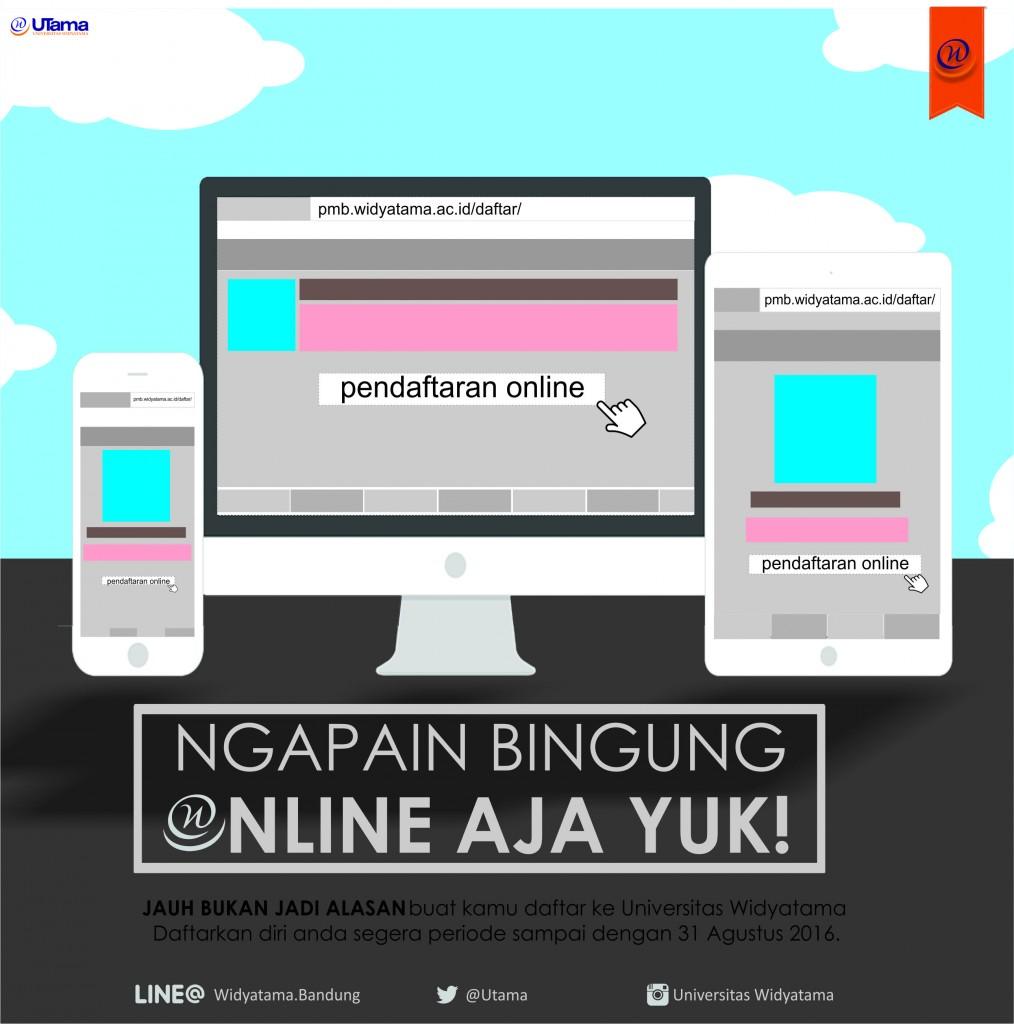 Pendaftaran Online Widyatama Universitas Widyatama