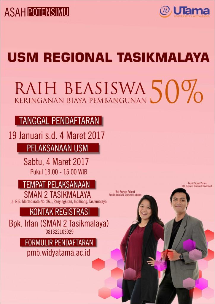 Ujian Saringan Masuk Regional Tasikmalaya