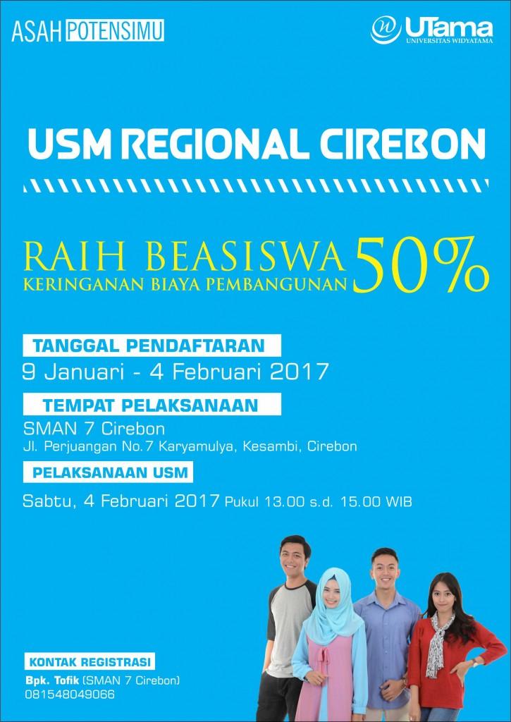 Ujian Saringan Masuk Regional Cirebon