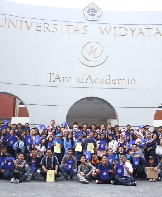 Wisata Edukasi SMA Negeri 6 Garut di Universitas Widyatama