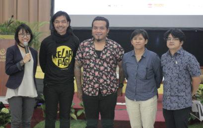 Inspirasi Dimas Djay dan Erix Soekamti dalam Talkshow '1 Hari 3 Ilmu' di Universitas Widyatama