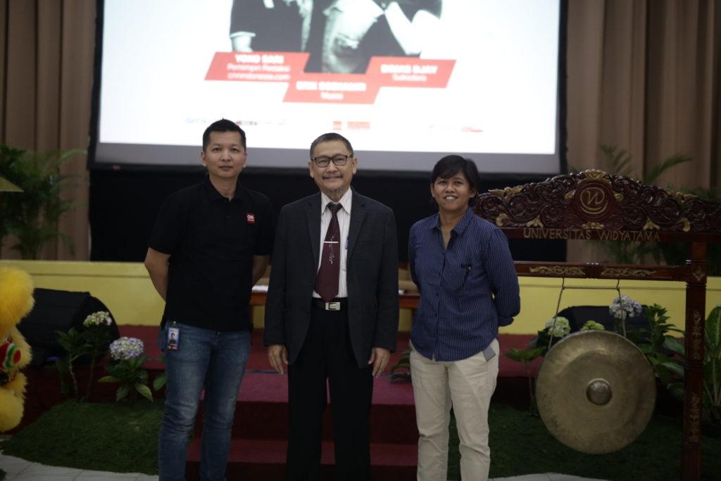 IMG 9379 1024x683 - Inspirasi Dimas Djay dan Erix Soekamti dalam Talkshow '1 Hari 3 Ilmu' di Universitas Widyatama