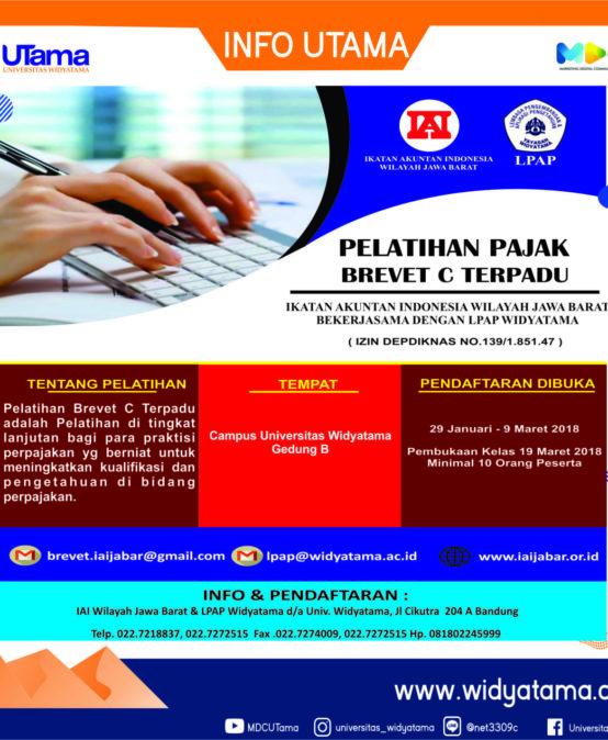 Program Kelas Pelatihan Pajak AB dan C