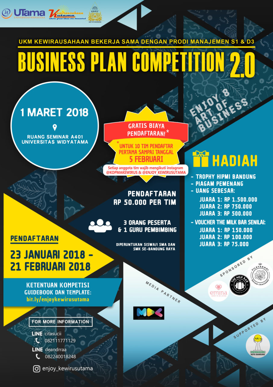 Widyatama Business Plan Competition